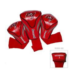 3ce87d7df Tampa Bay Buccaneers NFL 3 Pack Contour Fit Headcover Nfl Sports