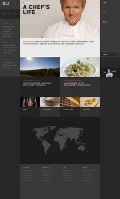 I N T E R A C T I V E / block, clean, grid #website