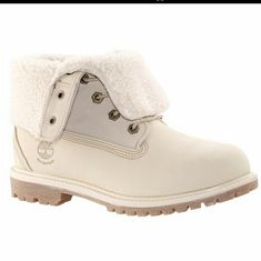b181f3532 Timberland Shoes | Timberland Winter Boot | Color: Cream | Size: 6