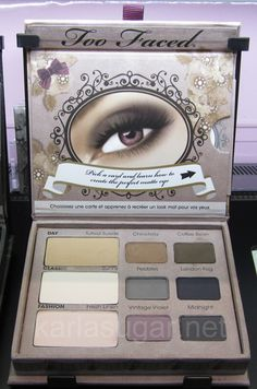 Too Faced Matte Eyeshadow Palette  Google Image Result for http://karlasugar.net/wp-content/uploads/2011/07/Too-Faced-Matte-palette.jpg