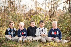 Cousin and extended family photography and posing | Fall and Winter outdoor photography | Family photography | Harrisonburg, VA Photography |