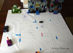 Make your own superhero city - The Activity Mom
