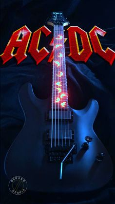 This is a place for all AC/DC fan's. Only AC/DC posts allowed. Easy Guitar, Guitar Tips, Cool Guitar, Hard Rock, Angus Young, Bon Scott, Brian Johnson, Rock Posters, Band Posters