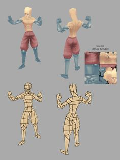 LOWPOLY (sub 1000~ triangle models) - Page 204 - Polycount Forum