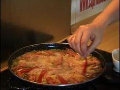 Vamos a hacer una paella valenciana