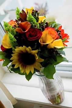 anything with sunflowers