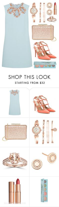 """Despite the forecast, live like it's Spring..."" by lgb321 ❤ liked on Polyvore featuring Miu Miu, Valentino, Lulu*s, Anne Klein, Astley Clarke, Charlotte Tilbury, women's clothing, women's fashion, women and female"