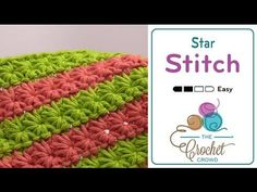 How To Crochet Star Stitch - YouTube