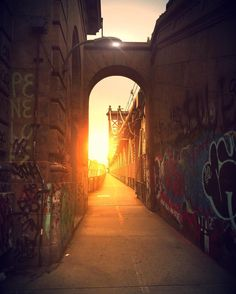 """nycfotophun: """"Sun graffiti  portal. #abc7ny #ig_today #ig_nycity #loves_nyc #made_in_ny #nycdotgram #nycprimeshot #nycprime_ladies #moody_grams  #topshooterz  #royalsnappingartists #udog_peopleandplaces #waycoolshots #weekly_feature #what_i_saw_in_nyc #newyork_instagram  #icapture_nyc #igersmood #ig_great_shots_nyc #ig_unitedstates #newyork_ig  #nbc4ny #wms_america #ig_masterpiece  #incredible_shot #awesomepix #places_wow #master_shots #worldbestshot #igersofnyc"""""""