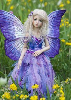 ✯ Lavender Ice Fairy .. Artist Martha Boers✯