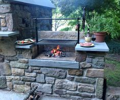 """Fantastic """"built in grill diy"""" detail is readily available on our internet site. Check it out and you wont be sorry you did. Outdoor Kitchen Patio, Outdoor Kitchen Design, Outdoor Fire, Outdoor Decor, Outdoor Living, Outdoor Kitchens, Outdoor Seating, Outdoor Projects, Backyard Barbeque"""