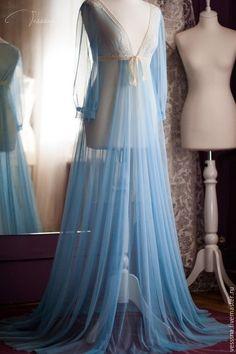 Халаты ручной работы. Заказать Будуарное платье