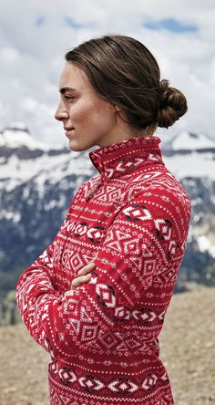 Our premier layering fleece for active pursuits, from alpine climbing to skiing to all-season travel. Wear it over a thin baselayer on the mountain; over a T-shirt in town.