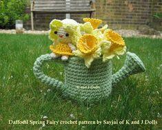 Ravelry: Daffodil Spring Fairy - Amigurumi crochet pattern pattern by Sayjai Thawornsupacharoen