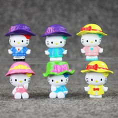 Hello Kitty Figures 3.5cm 6pcs //Price: $11.99 & FREE Shipping // World of Hello Kitty http://worldofhellokitty.com/kawaii-hello-kitty-figure-hello-kitty-mini-model-toys-3-5cm-anime-dolls-for-kids-6pcslot/    #childrensworld