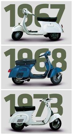 Hasil gambar untuk evolution of vespa Vespa Vbb, Moto Scooter, Lambretta, Piaggio Vespa, Scooter Bike, Vespa Scooters, Vespa Vintage, Vespa Retro, Triumph Motorcycles