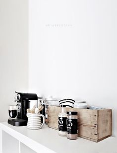 We should move our coffee station out of the kitchen and into a more comfortable lounge space.