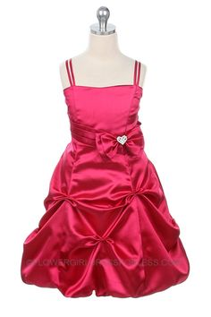 8145452e526 MB 175HP - Flower Girl Dress Style 175- Hot Pink SALE Size 14 or 16 -