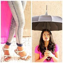 Monsoon Style Mantra – sleek, retro sandals 'Estelle' with a vintage elegance to die for! A smart choice for rains and the roads, much-much. Styles well with skirts and capris.  Charming look for the season by #blogger Santoshi Shetty of The Styledge