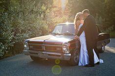 Old Car Wedding Photos // Wedding Photography // Canmore Wedding