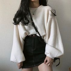 clothes fashion kfashion korean fashion style street style cute kawaii soft pastel aesthetic outfit inspiration elegant skinny fashionable spring autumn winter cozy comfy clothing dresses skirts blouse r o s i e Style Outfits, Cute Casual Outfits, Teen Fashion Outfits, Mode Outfits, Cute Fashion, Kawaii Fashion, 80s Fashion, Color Fashion, Classy Fashion