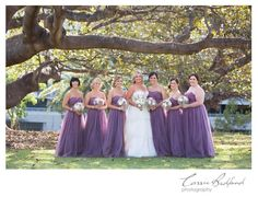 Our beautiful bride Naomie Frederickson just sent through a couple wedding shots via facebook. Her bridesmaids looked stunning in our Natasha Tulle Dress.