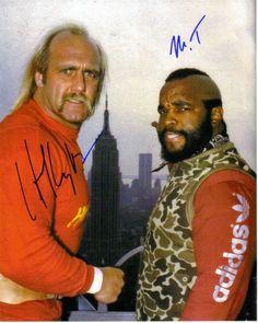 Hulk Hogan & Mr T