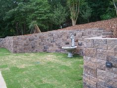 GeoStone Retaining Wall Systems and Hardscapes