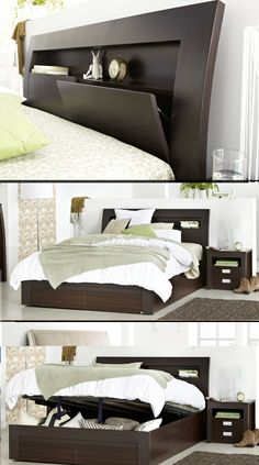 18 best beds with storage drawers or gas lift option images rh pinterest com