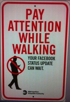 walking can be dangerous