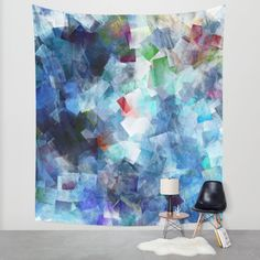 Buy Symphony in blue Wall Tapestry by Christine baessler. Worldwide shipping available at Society6.com. Just one of millions of high quality products available.