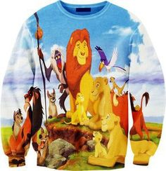 possibly the most magnificent sweatshirt I've ever seen