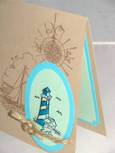 lighthouse by RaeT - Cards and Paper Crafts at Splitcoaststampers