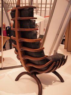 adore this rib chair 1968 Arthur Espenet Carpenter @LACMA