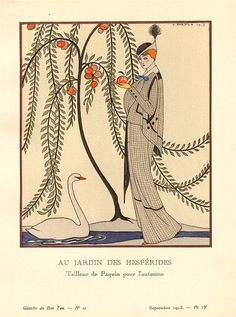 AU jardin des hespérides by Paquin  September 1913