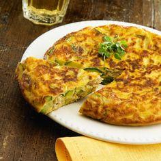 Receita de Omelete de Abobrinha - omelete. Servir quente.... abobrinha, ovo, cebola, manteiga, sal, pimenta síria...