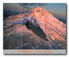 Deck up your interiors with the beautiful illusion and light up your room with this wonderful military Northrop t-38 talon aviation aircraft art print poster. This aviation wall art is sure to make brilliant display in your living room or lobby area. This air force poster is also make a wonderful addition into your kid's bedroom which will help your children's to spark their imagination, delight their senses and stimulate their creativity and artistic development.