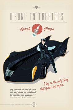 Batmobile spark plugs by Sean W. Thornton