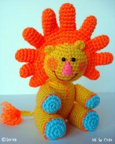 AllSoCute Amigurumis: Amigurumi Lion named Sunny / Güneş ismindeki amigurumi aslan