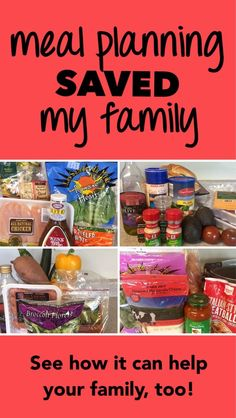 Meal planning has made a huge difference for our health, finances, and time management. Here's what you can do to make a lifelong change for your family!
