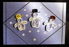 Snowmen - Quilled Creations Quilling Gallery