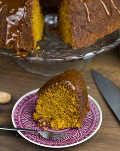 Objetivo: Cupcake Perfecto.: Bundt cake de calabaza especiada con caramelo salado