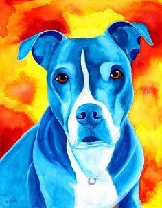 5 x 7 Custom Pet Portrait Pet Memorial by rachelspetpaintings, $90.00