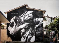 Gomez - Mural in Selci, (Rieti)