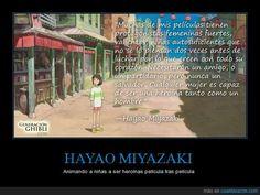 HAYAO MIYAZAKI - Animando a niñas a ser heroínas película tras película