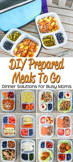 Busy driving your kids around to activities? Check out these simple prepared meals to go suggestions. Portable dinners make a busy mom's life easy! with @easylunchboxes