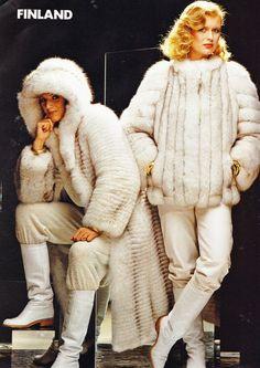 finnish fox fur coats