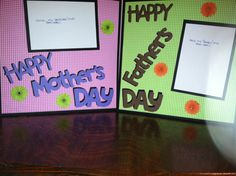 Happy Mother's Day AND Happy Father's Day Pre by aSavvyScrapbooker, $12.00