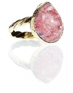 Dara Ettinger Hillary Druzy Ring on shopstyle.com