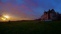 Sunset over Tobaccolot Bay and Gardiners Island as seen from the Montauk Manor, May 5 2013, Montauk NY, photo by Sailing Montauk